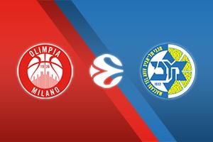 Armani Milan vs Maccabi Tel Aviv