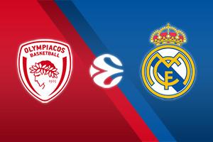 Olympiacos Piraeus vs Real Madrid
