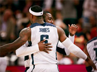 Olympic Mens Basketball - USA Lebron James