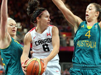 Olympic Womens Basketball - Canada vs Australia