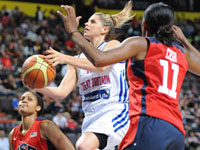Olympic Womens Basketball - Great Britain vs USA