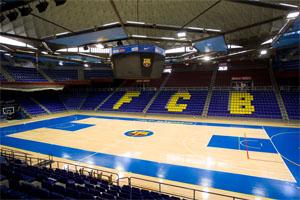 Palau Blaugrana Stadium Barcelona