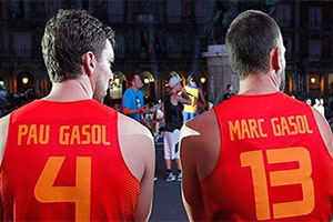 Pau Gasol and Marc Gasol