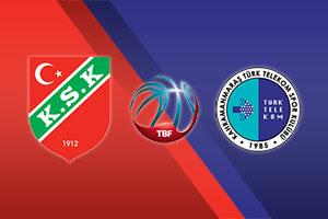 Pinar Karsiyaka vs. Turk Telekom