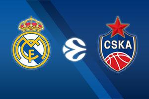 Real Madrid vs. CSKA Moscow