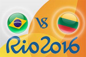 Rio 2016 Betting Tips - Brazil v Lithuania