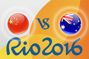 Rio 2016 Betting Tips - China v Australia