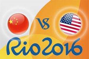 Rio 2016 Betting Tips - China v USA