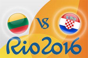 Rio 2016 Betting Tips - Lithuania v Croatia