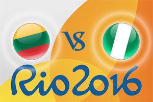 Rio 2016 Betting Tips - Lithuania v Nigeria