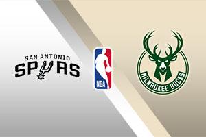 San Antonio Spurs vs. Milwaukee Bucks