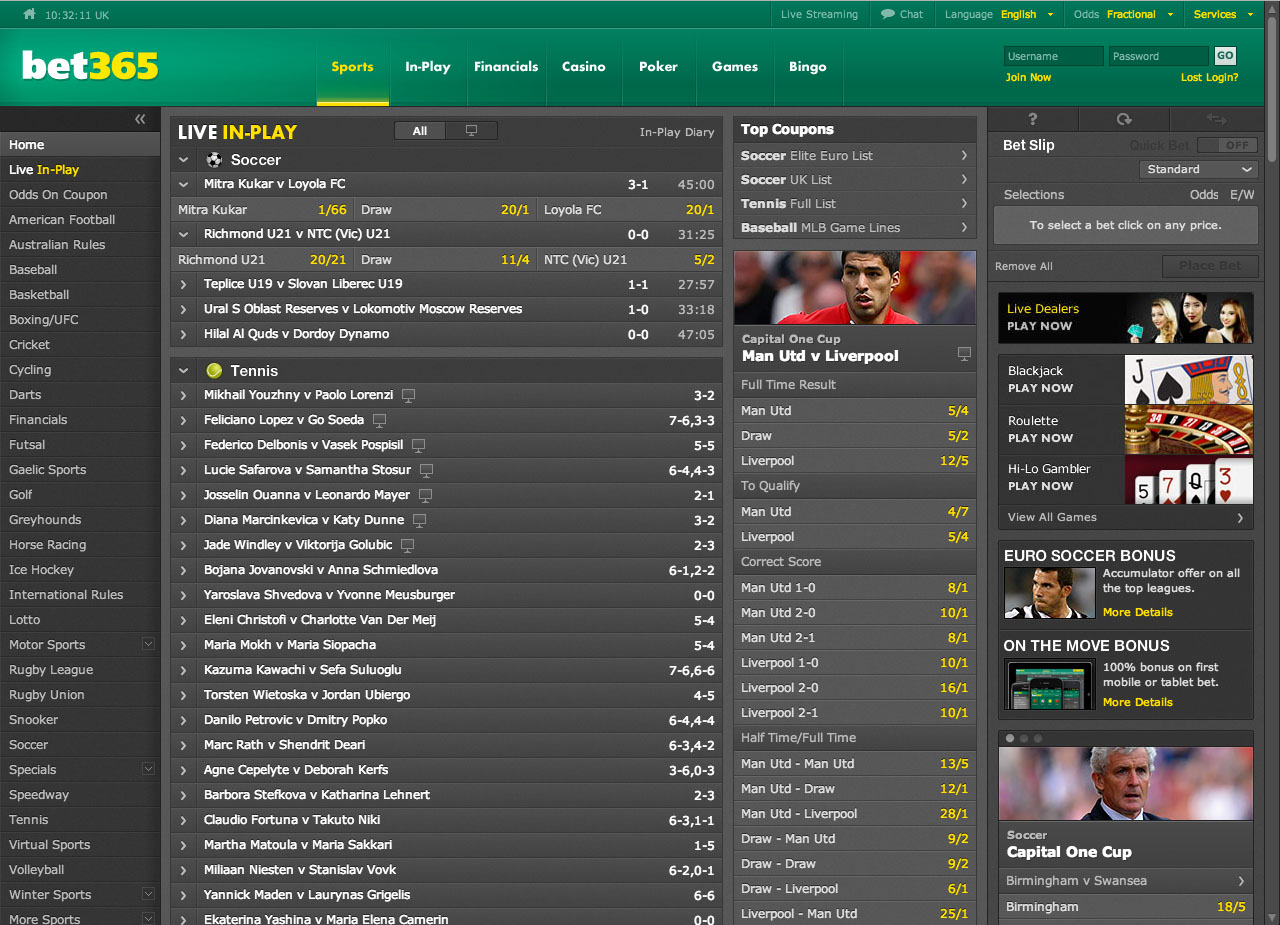 bet365 online sports betting
