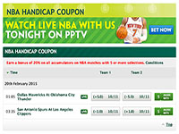 Paddy Power Basketball Futures