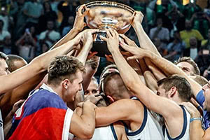 Slovenia Winners EuroBasket 2017