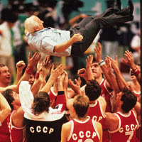 Sovjet Union Basketball Team