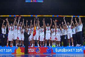 Spain FIBA EuroBasket 2015 Winner