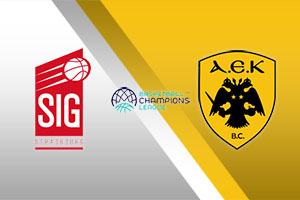 Strasbourg vs. AEK Athens