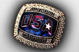 USA Olympic Championship Ring