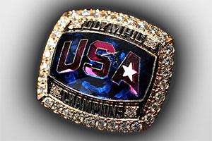 USA Olympic Championship Ring