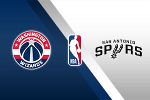 Washington Wizards vs. San Antonio Spurs